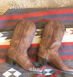 1883 by LUCCHESE N1547 TAN CRAYTON GOAT LEATHER WESTERN COWBOY BOOTS SIZE 9 2E