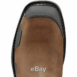 Ariat 10011933 Overdrive Safety Toe Tan Pull On Wellington Non Slip Work Boots