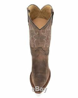 Circle G By Corral Men's Snip Toe Western Cowboy Leather Boots Basic Tan L5093