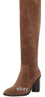 Coach Womens Ombre Tan Suede Over-The-Knee Boots Shoes 8 Medium (B, M) BHFO 7643