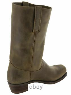 Frye Mens Cavalry 12L Tall Pull On Leather Boots