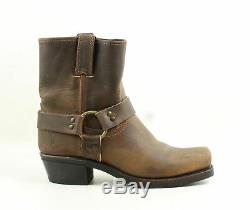 Frye Womens Harness 8R Tan-77455 Cowboy, Western Boots Size 9 (449234)