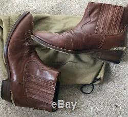 Golden Goose Delux Brand Western/Cowboy Boots 39 Uk 6 Tan. Very Good Condition