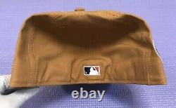 Hat Club Exclusive Cowboy Pack Tan Navy New York Yankees New Era Fitted 7 5/8