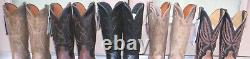 Lucchese Genuine Exotic Skins Cowboy Boots, Size (9 D, 10 D, 10 EE, & 10.5 D)