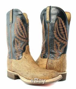 Lucchese HY2504. WF Archer Mens Tan Old English Leather Cowboy Western Boots 11