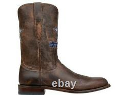 Lucchese M1016. C2 Wyatt Mens Tan Madras Goat Leather Cowboy Western Boots