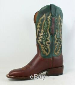 Lucchese Mens Cl8005. W8 Tan Cowboy, Western Boots Size 8 (219788)