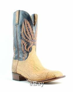 Lucchese Mens Hy2504. W8 Tan Cowboy, Western Boots Size 12 (EE) (671497)