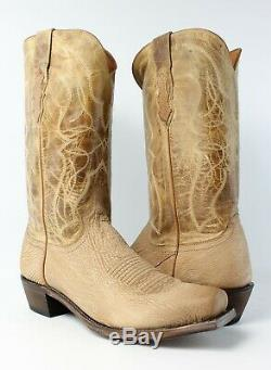 Lucchese Mens M3190.74 Tan Cowboy, Western Boots Size 10