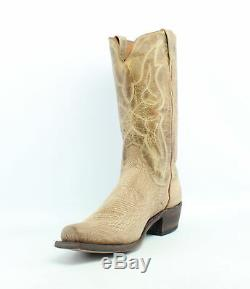 Lucchese Mens M3190.74 Tan Cowboy, Western Boots Size 10 (694485)