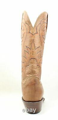 Lucchese Womens Hl4509.74 Tan Cowboy, Western Boots Size 7 (194611)