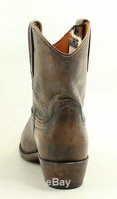 Lucchese Womens N6561 Antique Tan Cowboy, Western Boots Size 9 (954808)