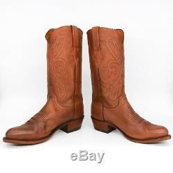 Mens Lucchese Western Cowboy Boot N1659. R3 ANT Tn Ranch Hand Tan Size 10D USA