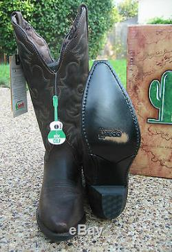 NEW Ladies Laredo Access Tan Leather Wide Calf Western Cowboy Boots Style 51078