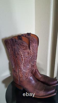 NEW! Lucchese Cassidy Tan Mad Dog Goat Women's M4999 Sz 8B