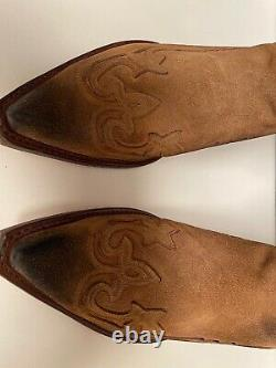 NEW Men's Sendra 3241 Tan Suede Leather Boots 13D