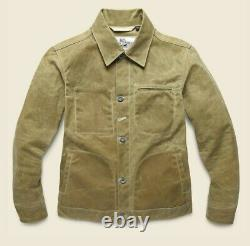 NEW Rogue Territory Supply Jacket James Bond NO TIME TO DIE Movie Waxed Tan M