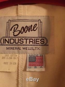 New Men's Boone Long Canvas Duster Western Cowboy Tan/Brown