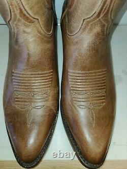New Men's Lucchese Classic GD4816.24 handmade Tan burnished Goat cowboy boot