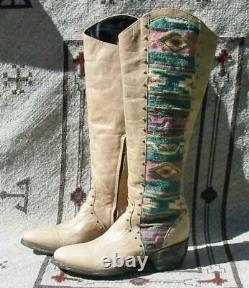 Old Gringo Tall Elina Tan Western Cowboy Ladies Leather Boots 7.5 New No Box