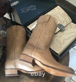 Tecovas Mens Boots The Cartwright 12 EE Natural Tan Calf New In Box With Tags