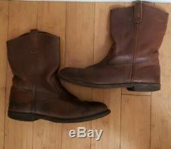 Vintage Red Wing Boots 693 12 D Tan Cork Soles