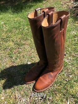 WMN Chippewa Gale Tall Harness 16 Leather Cowboy Boots TAN RENEGADE 1901W62